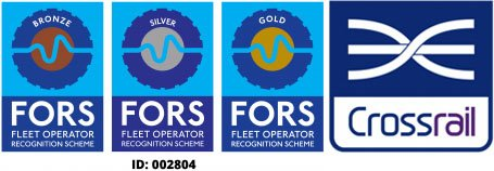 CG Haulage Gold Fors Accredited